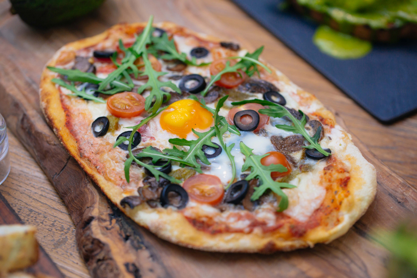 RIVA now serves up Breakfast Pizza