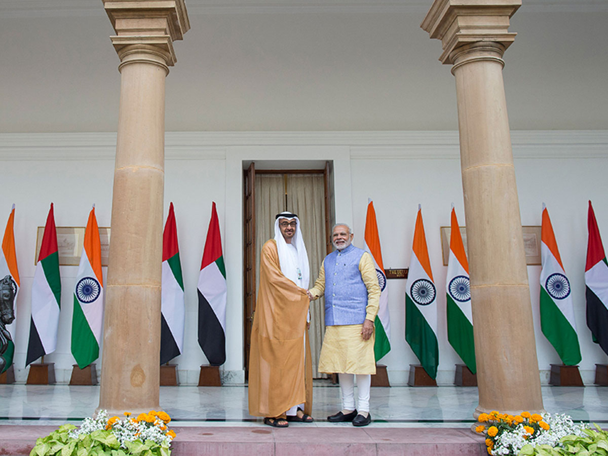 UAE President awards Indian Prime Minister the Zayed Medal