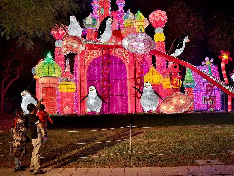 Four reasons children love Dubai Garden Glow