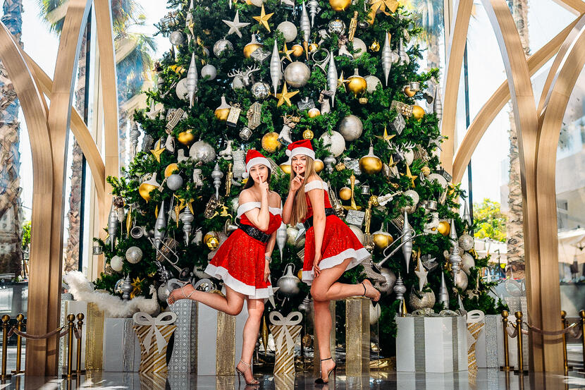 Celebrate Christmas at FIVE Palm Jumeirah Dubai